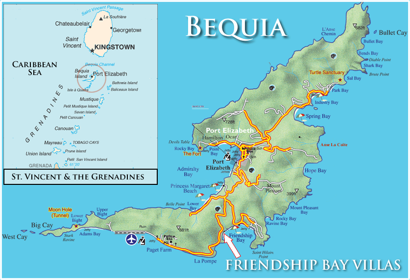 Friendship Bay Villas vacation rentals in Bequia St Vincent and